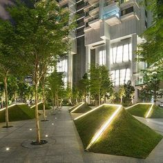 Landscaping Ideas Public Spaces Landscaping - Landscaping ideas public spaces _ landschaftsgestaltung ideen öffentlichen raum _ idées d'aménagement paysager espaces publics _ ideas de paisajismo espacios públicos _ landscaping i - Landscape Elements, Landscape Concept, Landscape Lighting, Urban Landscape, Contemporary Landscape, Architecture Site, Landscape Architecture Design, Landscape Architects, Architecture Sketches