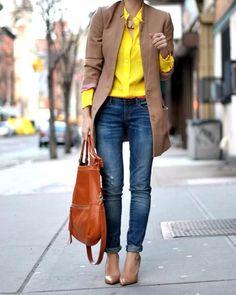 Yellow Silk Blythe Blouse - lifestylerstore - http://www.lifestylerstore.com/yellow-silk-blythe-blouse/