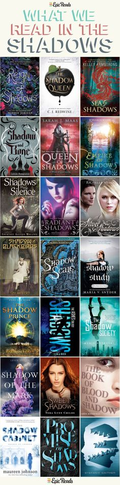 *21 YA books with Shadow in the title - by Epic Reads