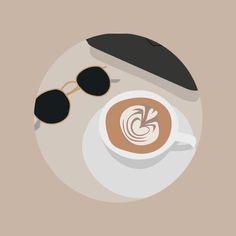 Cute Illustration, Digital Illustration, Deco Paris, Feeds Instagram, Islamic Cartoon, Creative Instagram Photo Ideas, Couple Art, Instagram Highlight Icons, Aesthetic Stickers