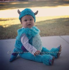 Baby Sully Halloween Costume (Together with Mommy Mike Wazowski)… Coolest Halloween Costume Contest