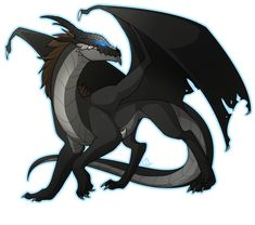 black dragon by Lilwolfpard ...