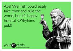 Love being Irish