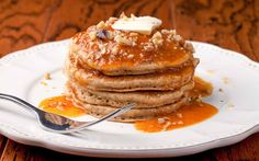 Ragi Pancake Recipe With Bananas - Ayurveda Rezepte Tasty Pancakes, Banana Pancakes, Fruit Pancakes, Waffles, Banana Recipes Videos, Ayurveda, Ragi Recipes, Recipes With Ragi Flour, Whole Wheat Pancakes