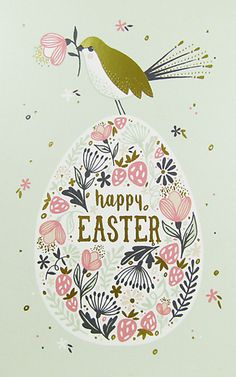 Today my Easter design review turns to John Lewis who have card designs from The Art File (above & below) and Caroline Gardner among other publishers.