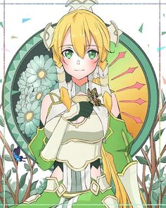 Leafa Sao, Kirito, Leafa Sword Art Online, Kingdom Hearts Anime, Sao Characters, Vampire Knight, Anime Crossover, Magical Girl, Fantasy Creatures