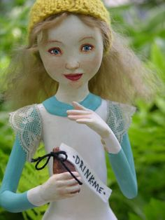 Alice in Wonderland Art Doll