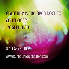What are you grateful for today?  We are grateful for our beautiful community of yogis and our amazing studio in Harvard Square.  We hope to see you there soon. www.kundaliniyogaboston.com