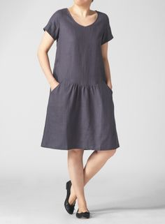 linen+pocket=YES ok so it's a little bit dowdy but I need a housedress.