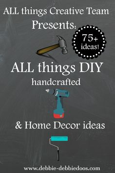 All things DIY handcrafted and home decor ideas.