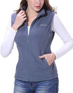 Clothin Men/Women Full Zip Fleece Vest Blue Vests, Fleece Vest, Men And Women, Zip, Jackets, Stuff To Buy, Fashion, Down Jackets, Moda