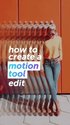 How To Add Motion To Your Photos In One Swipe - How To Edit Photos - Photo editing online - - Click through to start creating with PicsArt now or pin and save for later Photoshop Tutorial, Picsart Tutorial, Photoshop Actions, Photoshop Ideas, Photoshop Elements, Photography Filters, Tumblr Photography, Photoshop Photography, Photography Jobs
