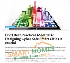 DSCI Best Practices Meet 2016: Designing Cyber Safe Smart Cities is crucial. #Dholera #DholeraSIR #DholeraSmartCity #Gujarat