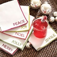 A festive place to set a drink