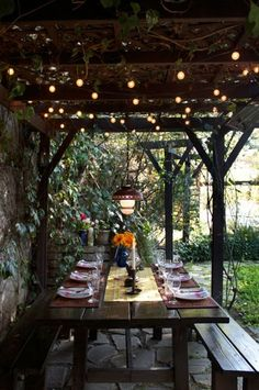 perfect spot for a dinner party
