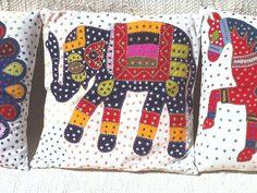 Barmer Applique Pillows