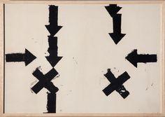 Jannis Kounellis, 'Senza titolo,' 1960, Erica Ravenna Fiorentini Arte Contemporanea