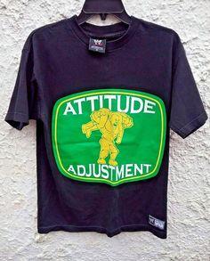 b3f355ca WWE John Cena Attitude Adjustment Wrestling Shirt Adult Medium #fashion # clothing #shoes #