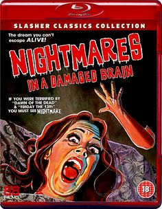 NIGHTMARES IN A DAMAGED BRAIN BLU-RAY 88 FILMS SLASHER CLASSICS COLLECTION SPINE #12
