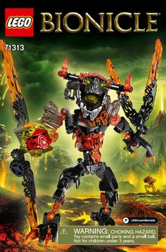 of Lava Beast. Develop Children's hand and eye coordination as well as his fine motor skills. High Quality for Building Bricks/Decoration/Toys/Gift. Lego Robot, Lego Moc, Nursing Care Plan, Lego Design, Lego Bionicle, Kids Hands, Care Plans, Photoshop Cs5, Awesome Anime