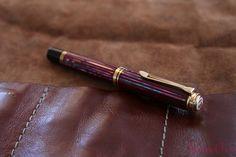 Review Pelikan Souverän M1000 Sunrise LE Fountain Pen @Pelikan_Company @vulpennen 16