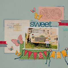 layout by Maggie Holmes featuring AUTUMN PRESS