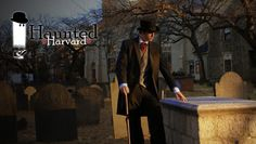 Haunted Harvard Ghost Tour @ Cambridge Historical Tours at Harvard Square (Cambridge, MA)
