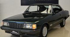 Gm Opala Diplomata SE 1988 Verde - Pastore Car Collection