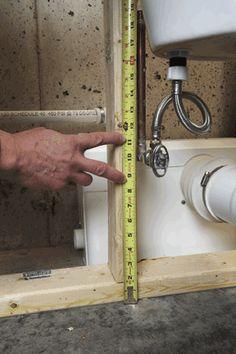 Saniflo bathroom with behind wall macerator creative - Cost to install basement bathroom ...