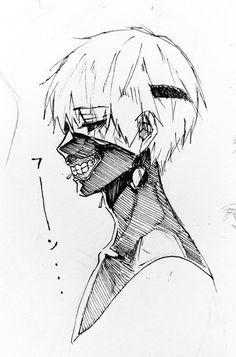 Ken Kaneki, from Tokyo Ghoul