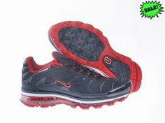 new concept b626f 47a72 SKAY 2014 Noir Rouge Homme Chaussure Nike Air Max TN 09 843848