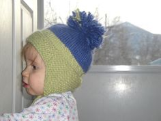 Ravelry: Baby Earflap Hat by Brittany Martens