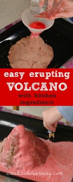 Easy Science Experiments for Kids: How to Make a Volcano Erupt