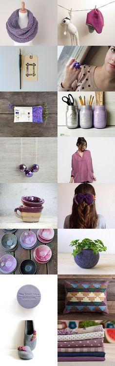 Purple by Maria Bradley on Etsy--Pinned with TreasuryPin.com #sodelightful