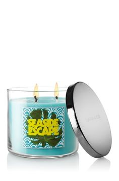 Seaside Escape Candle from Bath & Body Works!  A pinner said this really works and smells great !