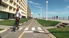 Va Beach Virtual Bicycle Tour Boardwalk From 1st To 25th Street Vab