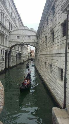 Puente del suspiro -Venezia