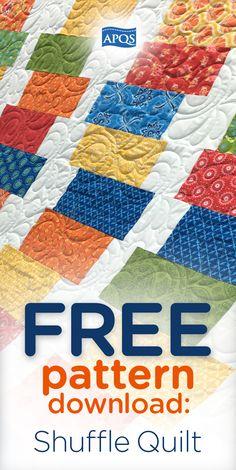 Free Patience quilt block pattern   Quilting   Pinterest   Quilt ... : free longarm quilting patterns download - Adamdwight.com