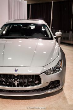 We love stuff like that... fits perfectly to a KEPLER Accessoires #maserati