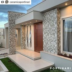 [New] The 10 Best Home Decor Today (with Pictures) Modern Entrance Door, House Entrance, House Front Design, Modern House Design, Classic House Exterior, Beautiful House Plans, Model House Plan, Home Building Design, Facade House