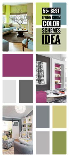 55+ Best Living Room Color Schemes Idea