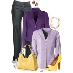 """""""Mondani Palmer Hobo - Amethyst and Citrine"""" by amy-phelps on Polyvore"""