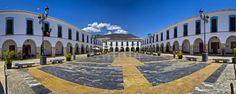 Plaza porticada, Berja (E) Plaza, Granada, Santa Fe, Cities, Grenada
