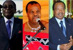 Here are the names leaders who have over stayed in power