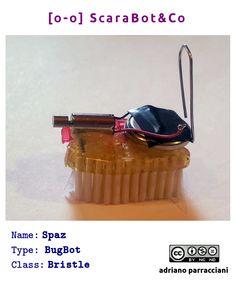 Spaz - BugBot #tinkering Diy Robot