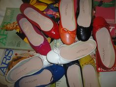 rotagonista la mia ballerina Italian Shoes, Falling In Love, Ballet Flat