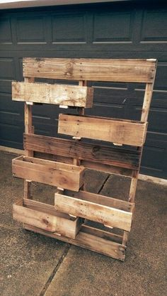 Pallet Ideas : Want to renew your house with wooden pallet furniture? We are the… Pallet Ideas : Want to renew your house with wooden pallet furniture? We are the right place for you. Just Click and get to know many pallet ideas. Wooden Pallet Projects, Diy Pallet Furniture, Pallet Ideas, Diy Projects, Outdoor Furniture, Pallet Garden Projects, Palette Projects, Cheap Furniture, Furniture Plans