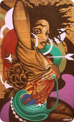M - afro-art Caricatures, Black Artwork, Afro Art, African American Art, Black Women Art, Arte Pop, Dope Art, Beauty Art, Urban Art