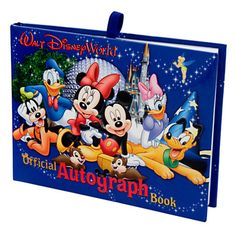 Have your guests leave their autographs in this authentic Disney autograph book. | 33 Subtle Ways To Add Your Love Of Disney To Your Wedding--- WIsh I would have thought of this!!