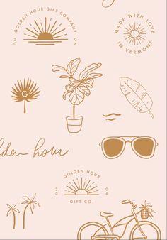 Self Branding, Corporate Branding, Logo Branding, Photography Packaging, Photography Logos, Girly Wallpaper, Beach Logo, Craft Logo, Design Digital